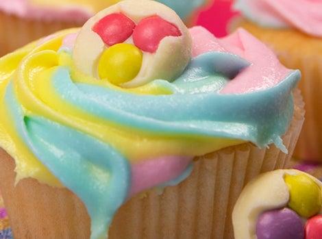 Smarties Buttons Cupcakes Thumbnail