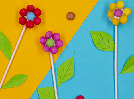 Smarties Marshmallow Flowers Thumbnail