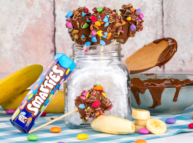 Smarties® Banana sticks