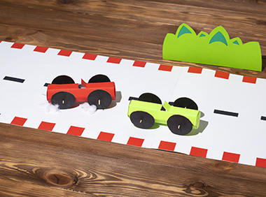 cars craft for kids