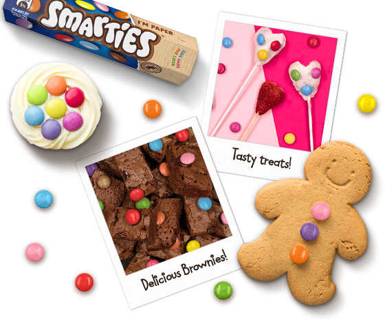 Smarties recipes collage